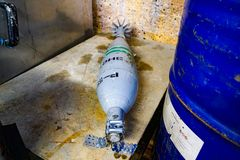 Mine de bombe photographie stock libre de droits