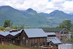 Mine de Britannia, Canada image stock