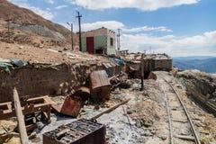 Mine de Cerro Rico dans Potosi photo libre de droits