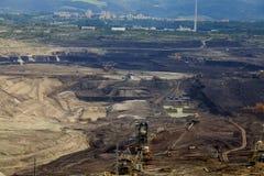 Mine de charbon, Sokolov, République Tchèque Image libre de droits