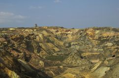 Mine de cuivre Image libre de droits