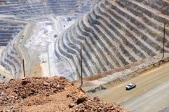 Mine de cuivre de Bingham Kennecott image libre de droits