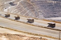 Mine de cuivre de Kennecott, Utah Photos stock