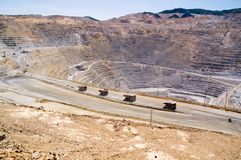 Mine de cuivre de Kennecott, Utah Photographie stock libre de droits