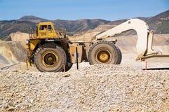 Mine de cuivre de Kennecott, Utah image stock