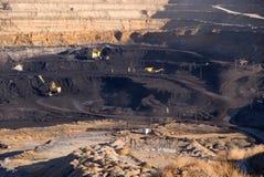 Mine de houille Image stock