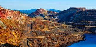 Mine de Rio Tinto Photos stock