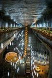 Mine de sel dans Turda, Roumanie Photos libres de droits