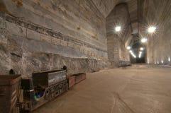 Mine de sel de Salnic Prahova Image libre de droits