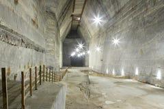 Mine de sel de Slanic - Unirea Photographie stock