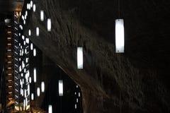 Mine de sel de Turda, Roumanie Photos libres de droits