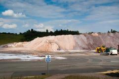 Mine de sel de Winsford Image libre de droits
