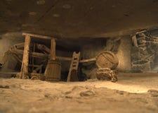 Mine de sel Wieliczka Images libres de droits