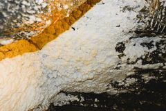 Mine de sel de Wieliczka, Pologne photo stock
