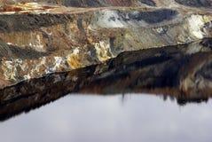 Mine de Tharsis Photo stock