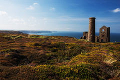 Mine de Wheal Coates Image libre de droits