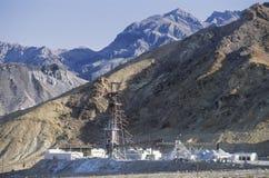Mine in  Death Valley Stock Photo
