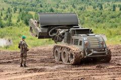 Mine destroyer Royalty Free Stock Photos