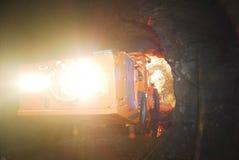 Mine drilling machine Stock Photos