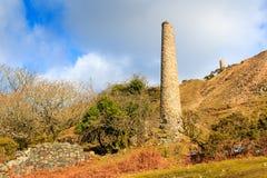 Mine du sud les Cornouailles de Caradon Image libre de droits