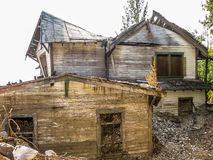 Mine e ghost town, Kennicott, Alaska Stock Image