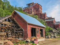 Mine e ghost town, Kennicott, Alaska Royalty Free Stock Photos