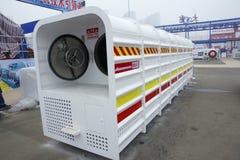 Mine emergency shelter Stock Photo