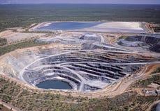 Mine en uranium photo stock