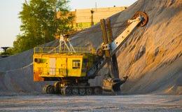 Mine excavator Royalty Free Stock Photo