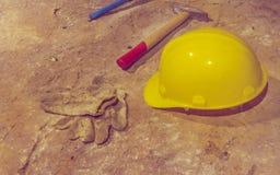 Mine explore tools Stock Images