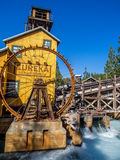 Mine feature at the Grizzly Peak River Run. ANAHEIM, CALIFORNIA - FEBRUARY 13: Mine feature at the Grizzly Peak River Run at Disney California Adventure Park on Stock Image
