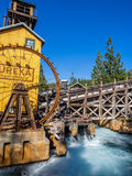 Mine feature at the Grizzly Peak River Run. ANAHEIM, CALIFORNIA - FEBRUARY 13: Mine feature at the Grizzly Peak River Run at Disney California Adventure Park on Stock Photography