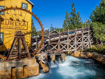 Mine feature at the Grizzly Peak River Run Stock Photo