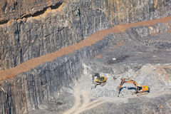 Mine in Gallarta Stock Images