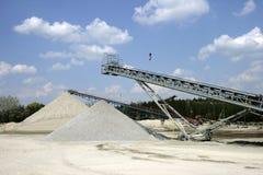 Mine of gravel Stock Photos