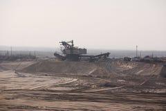 Mine of gravel1 Stock Photo