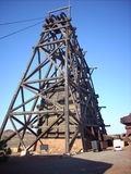 Mine head frame Royalty Free Stock Photos