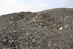 Mine heap Royalty Free Stock Images