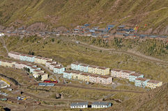 Mine housing Royalty Free Stock Photo