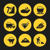 Mine icons design Stock Photo
