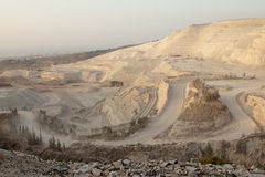 Mine, Lebanon. A large marble mine in Lebanon Stock Images