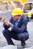 Mine manager ore Royalty Free Stock Photography