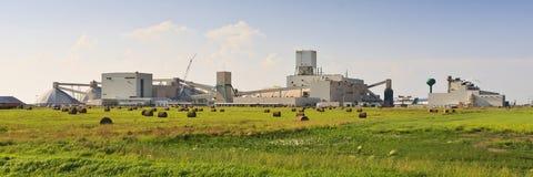 Mine on the Prairies Stock Image