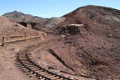 Mine railroad Stock Images