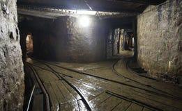Mine railway - Slovakia Stock Image