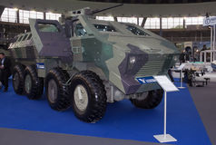 Mine Resistant Ambush Protecte vehicle Royalty Free Stock Photo