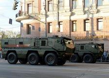 Mine-Resistant Ambush Protected (MRAP) armored vehicles Typhoon-K. Royalty Free Stock Photos