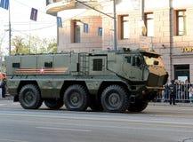 Mine-Resistant Ambush Protected (MRAP) armored vehicles Typhoon-K. Royalty Free Stock Photography