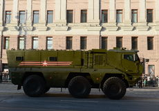 Mine-Resistant Ambush Protected (MRAP) armored vehicles Typhoon-K. Royalty Free Stock Image