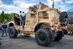 Mine resistant vehicle Oshkosh Stock Photo